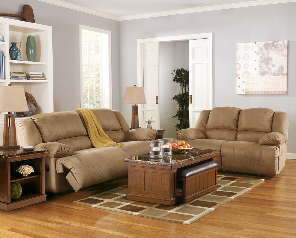 Mocha Brown Microfiber Recliner Sofa and Loveseat Built for Extra Comfort with Extra Wide Seating & Hogan 2 Seat Reclining Sofa - Corporate Website of Ashley ... islam-shia.org