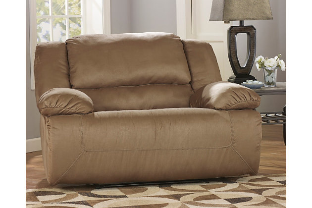 Living room decorating idea with this furniture  sc 1 st  Ashley Furniture HomeStore & Hogan Oversized Recliner | Ashley Furniture HomeStore islam-shia.org