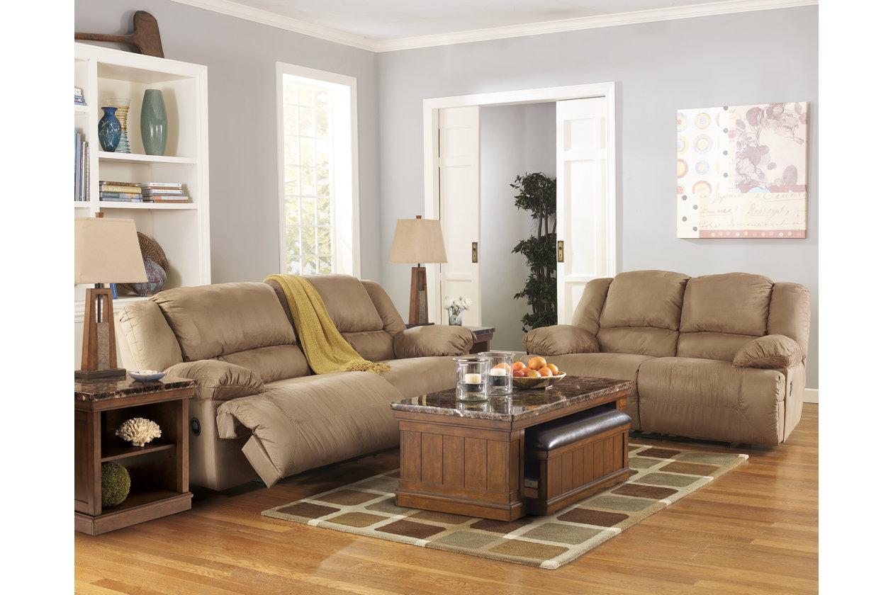 Hogan Reclining Sofa Ashley Furniture