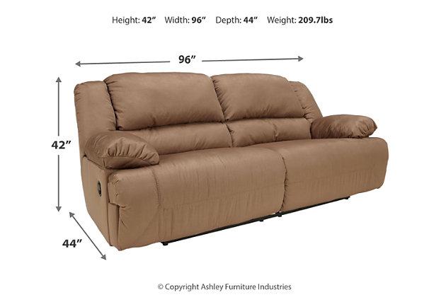 Hogan Reclining Sofa, , large
