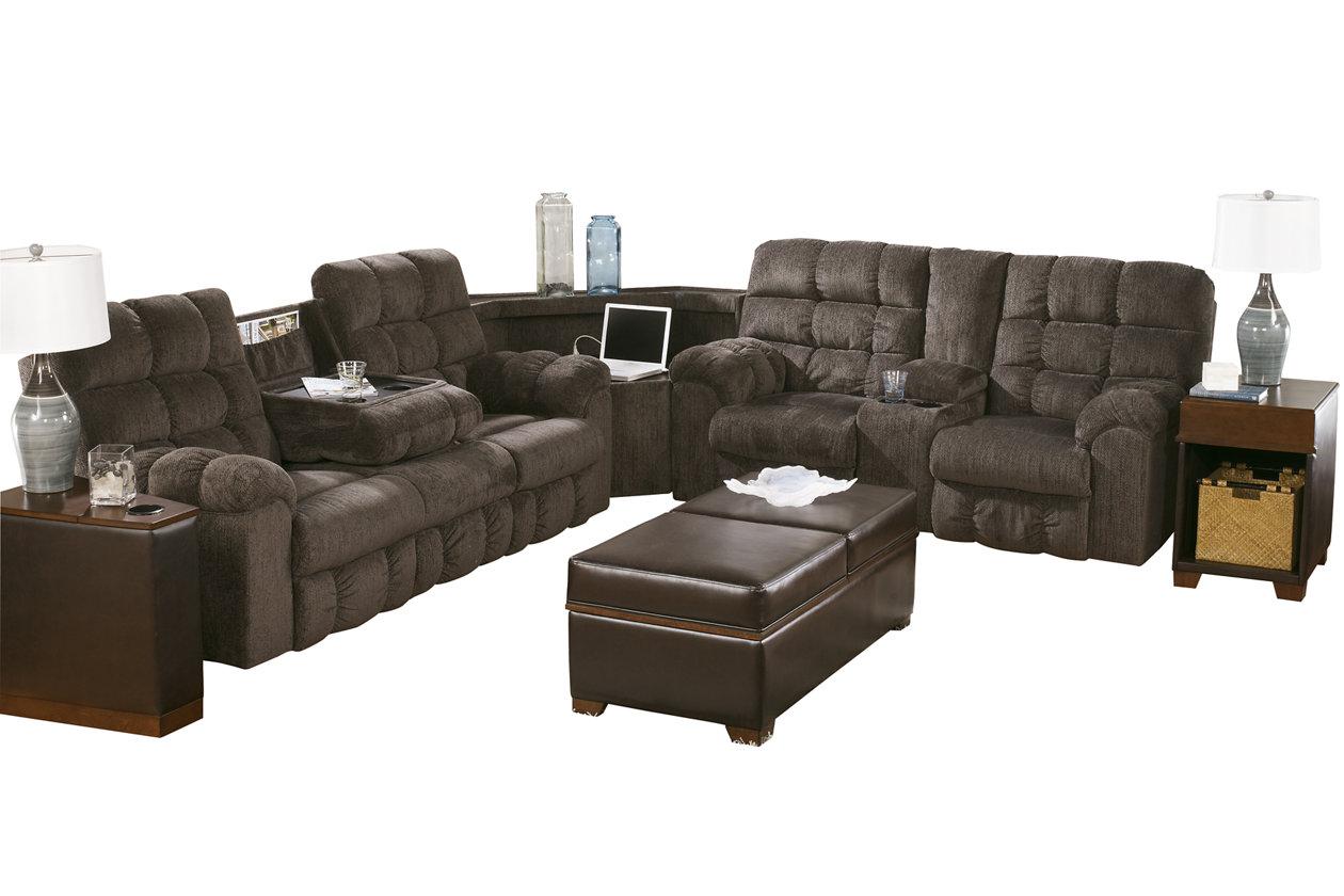 Excellent Acieona 3 Piece Reclining Sectional Ashley Furniture Homestore Spiritservingveterans Wood Chair Design Ideas Spiritservingveteransorg