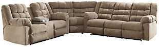 Workhorse 3-Piece Sectional, , large