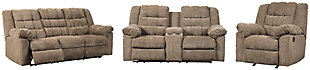 Workhorse Sofa, Loveseat and Recliner, , large