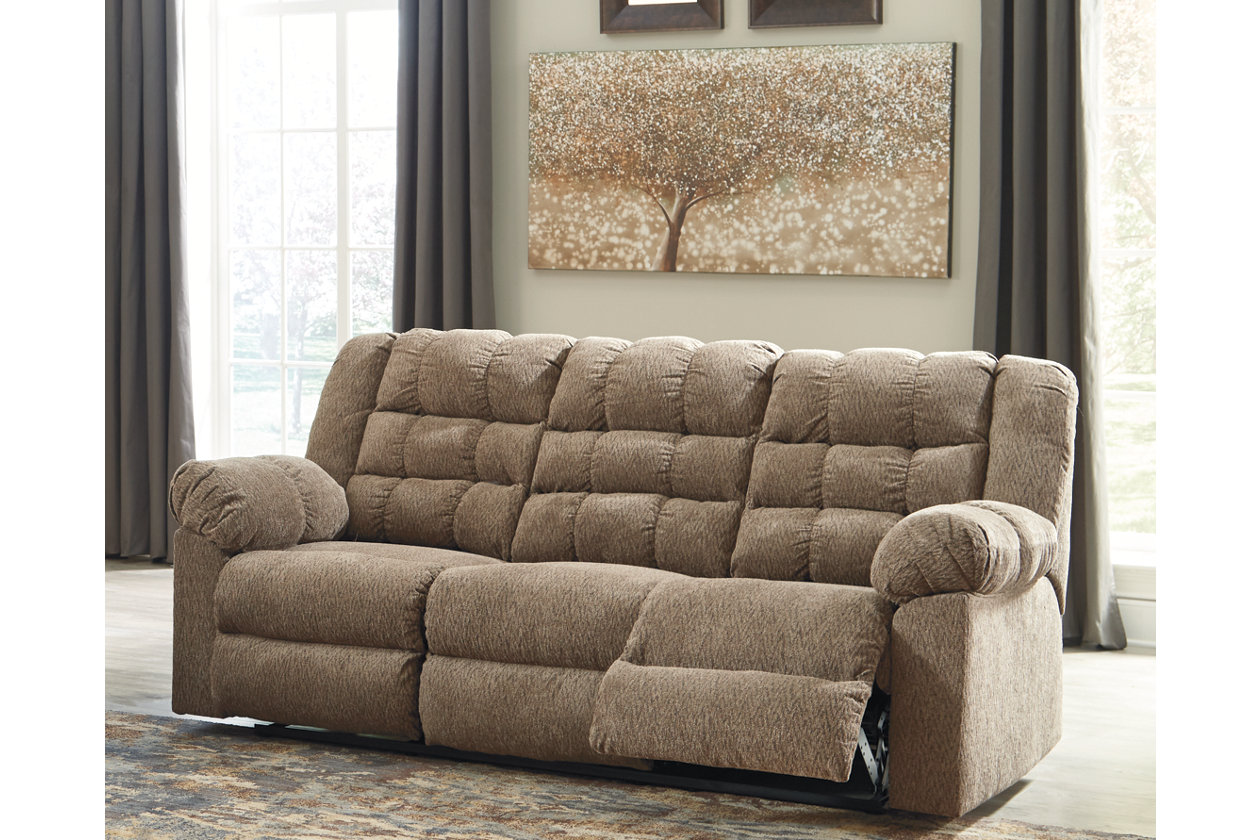 Enjoyable Workhorse Reclining Sofa Ashley Furniture Homestore Pabps2019 Chair Design Images Pabps2019Com