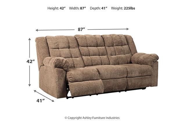 Workhorse Reclining Sofa, , large