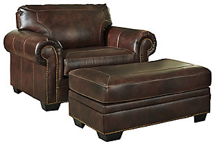Roleson Chair and Ottoman, , large