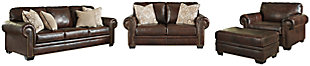 Roleson Sofa, Loveseat, Chair and Ottoman, , large