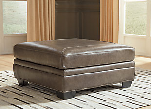 Roleson Oversized Accent Ottoman, , large