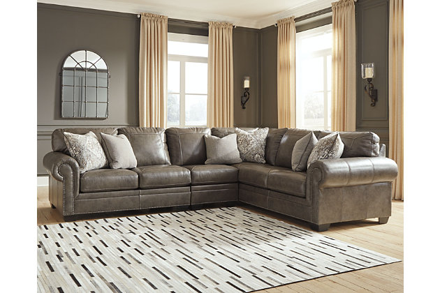 Roleson 3 Piece Sectional Ashley Furniture Homestore