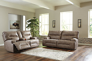 Hazenburg Power Reclining Sofa, , large