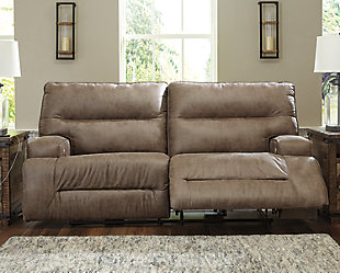 Hazenburg Power Reclining Sofa, , rollover