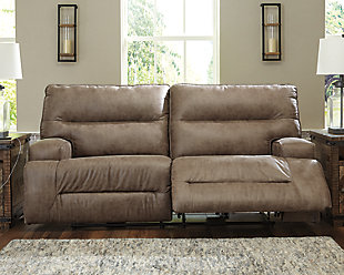Hazenburg Reclining Sofa, , rollover