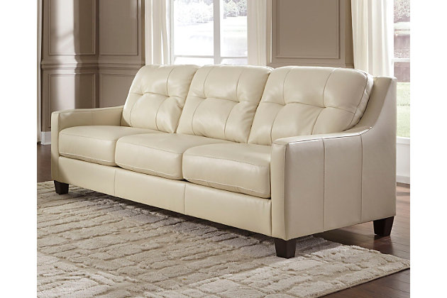 Ashley leather living room furniture Traditional Okean Sofa Galaxy Large Ashley Furniture Homestore Okean Sofa Ashley Furniture Homestore