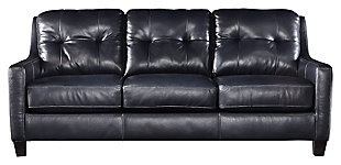 O'Kean Queen Sofa Sleeper, Navy, large
