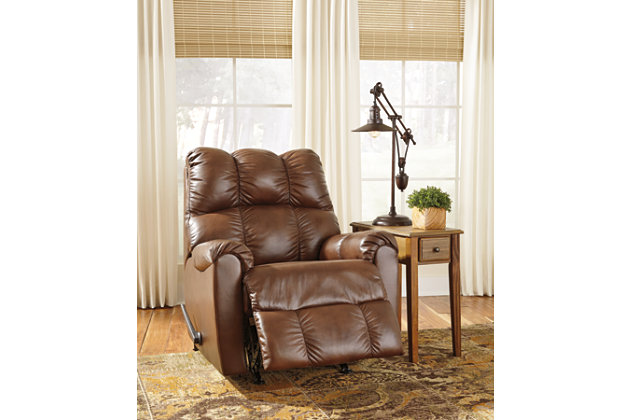 Denaraw Recliner, Canyon, large