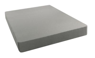 BeautySleep Twin XL Standard Height Foundation, Gray, large