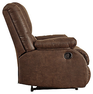 Bladewood Recliner, Coffee, large