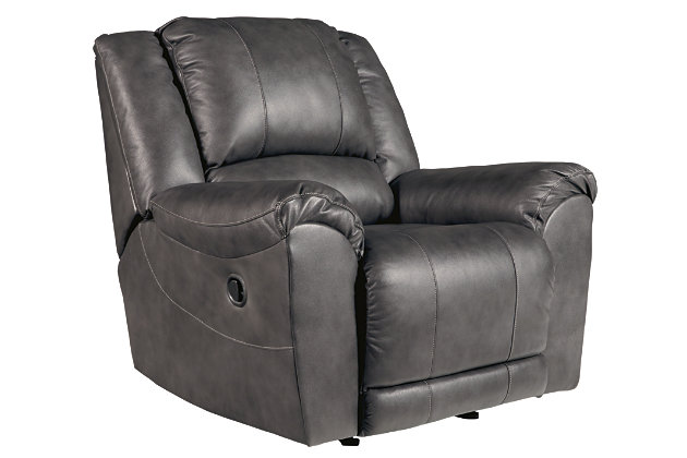 Persiphone Recliner, Charcoal, large