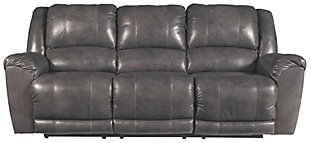 Persiphone Reclining Sofa, Charcoal, large