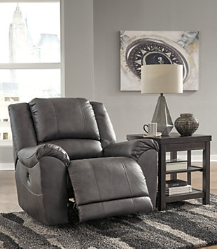 Persiphone Power Recliner, Charcoal, rollover