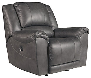 Persiphone Power Recliner, Charcoal, large