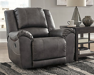 Persiphone Recliner, Charcoal, rollover