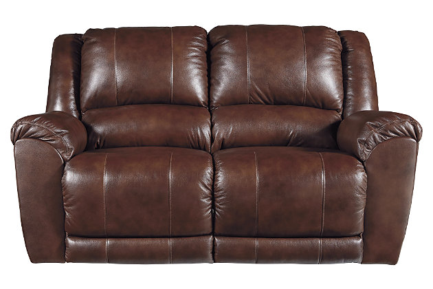 Persiphone Power Reclining Loveseat, Canyon, large
