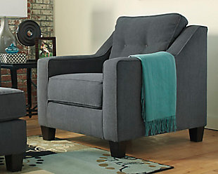 Shayla Chair, Dark Gray, rollover