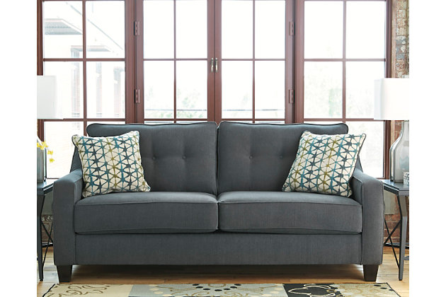 Gray Sectional Sofa Ashley Furniture Wooden Floors With