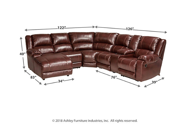 MacGrath 6-Piece Sectional, , large