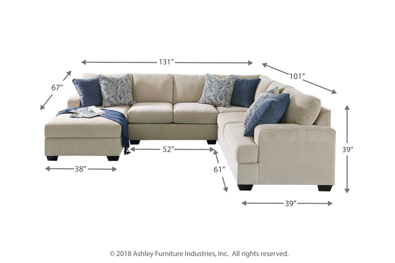 Enola 4 Piece Sectional With Chaise