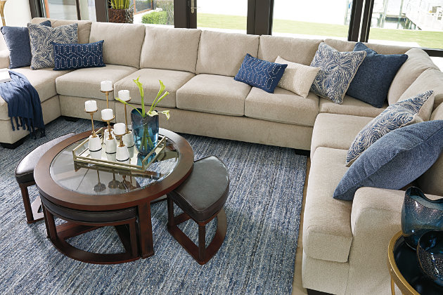 Enola 5-Piece Sectional with Chaise, , large
