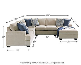 Swell Enola 4 Piece Sectional With Chaise Ashley Furniture Homestore Pabps2019 Chair Design Images Pabps2019Com