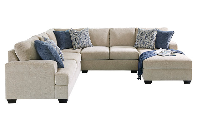 Phenomenal Enola 4 Piece Sectional With Chaise Ashley Furniture Homestore Spiritservingveterans Wood Chair Design Ideas Spiritservingveteransorg
