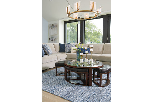 %name Marion Coffee Table With Stools Best Price