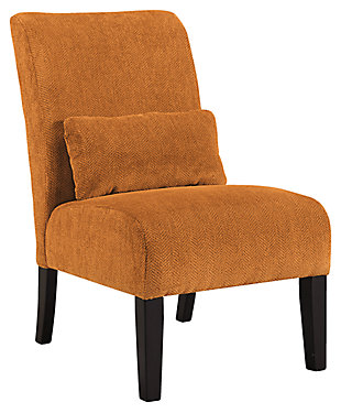 Annora Accent Chair, Orange, ...