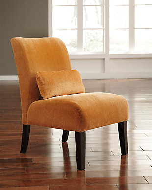 Annora Accent Chair, Orange, rollover