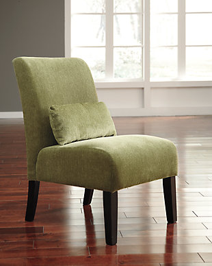 Annora Accent Chair, Green, rollover