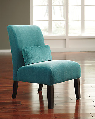Annora Accent Chair, Teal, rollover