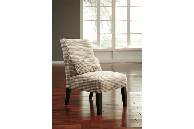 Brown Annora Accent Chair by Ashley HomeStore, Polyester (100 %)