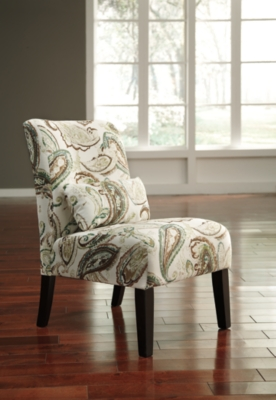 Ashley Annora Accent Chair, Paisley