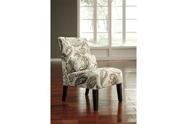 Annora Accent Chair, Paisley, large