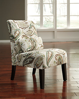 Annora Accent Chair, Paisley, rollover