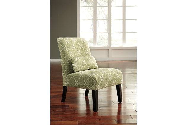 Green Annora Accent Chair by Ashley HomeStore, Polyester (100 %)