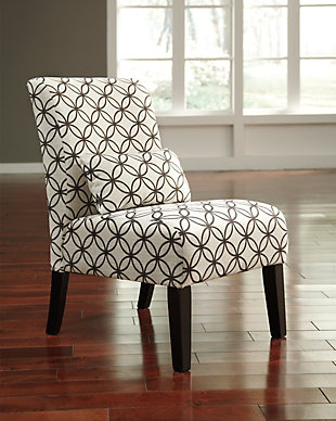 Annora Accent Chair, Brown, rollover