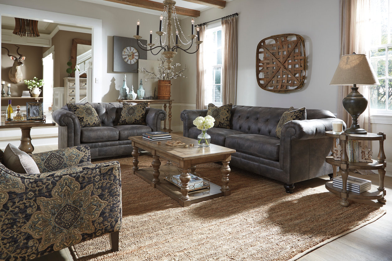 Ashley Furniture Packages  Hartigan Sofa. Ashley Furniture Packages   Make Your Own Room Package