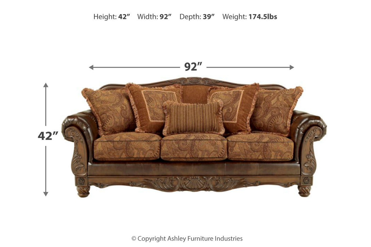 Awesome Fresco Sofa Ashley Furniture Homestore Home Remodeling Inspirations Basidirectenergyitoicom