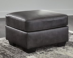 Kensbridge Ottoman, Charcoal, large