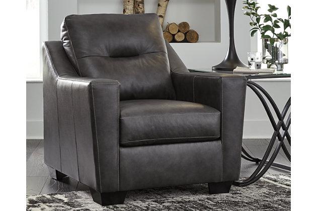 Kensbridge Chair, Charcoal, large
