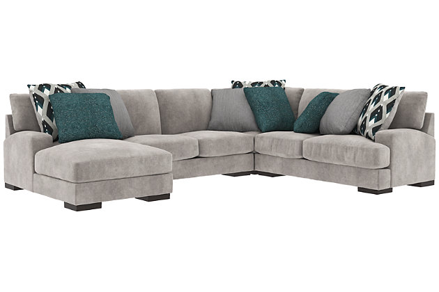 4 Piece Sectional Sleeper Sofa Review Home Co